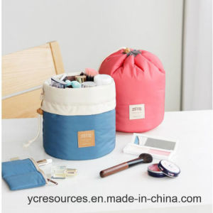 Cylinder Cosmetic Bag, Wash Bag (PG18009) pictures & photos
