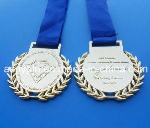 Zinc Alloy Die Cast 3D Medal with Ribbon pictures & photos