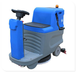 Warehouse Floor Cleaning Scrubber Machine pictures & photos