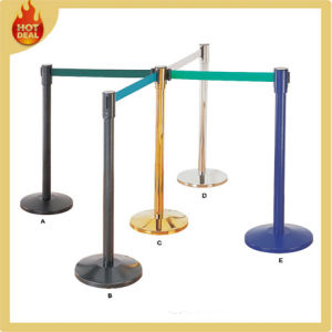 Stainless Steel Crowd Control Barrier/Queue Barrier Poles pictures & photos