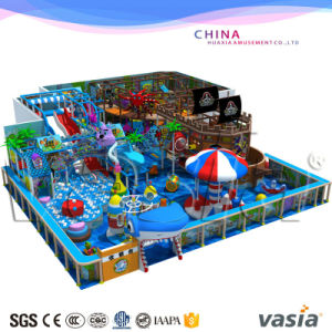 Children Indoor Playground Equipment for Commercial Use Under The Sea Theme 4-12 Years pictures & photos