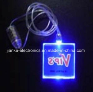 Christmas Party Lighting Pendant Necklace with Logo Print (2001) pictures & photos