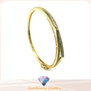 Wholesale Fashion Gold and Silver Hip Hop Bangles Upper Arm Bracelet for Lady (G41251) pictures & photos