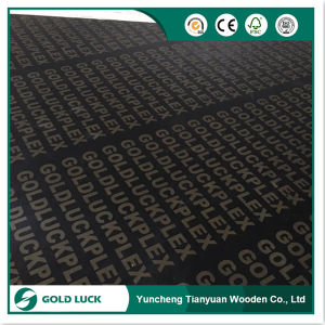 Black/Brown Film Faced Waterproof Plywood for Concrete Formwork pictures & photos