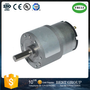 Micro Gearbox Gear Motor Carbon Brush DC Motors pictures & photos