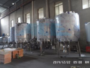 2000L Sanitary to 5000L Horizontal Milk Cooling Tank pictures & photos
