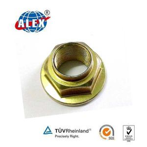 Carbon Steel Material Flange Lockng Nuts pictures & photos