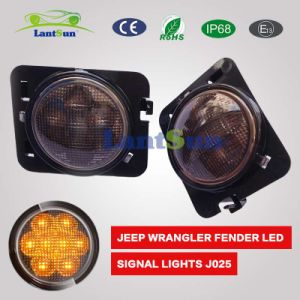 Car Accessories for Jeep Hot Sale Wrangler Wheel Eyebrow Lamp pictures & photos