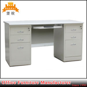 Metal Furniture Desk Steel Executive Office Table with Double Pedestal pictures & photos