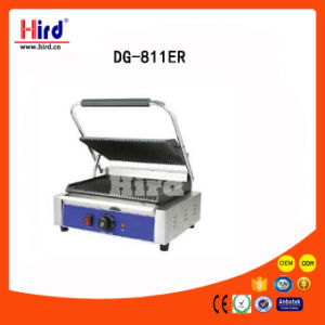 Electric Contact Griddle (Dg-811re) All Ribbed Ce