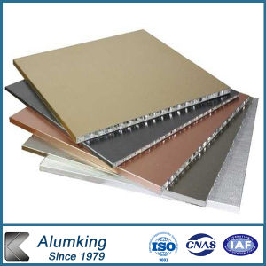 PVDF Aluminum Honeycomb Panel for Building Material pictures & photos