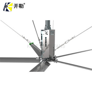 Hvls 3.6m Plant Warehouse Use Electric AC Industrial Ceiling Fan (KL-HVLS-D8BAA36)