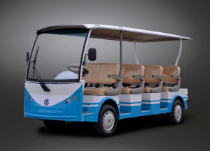 Street Legal Luxury Design 11 Seater Electric Tourist Bus Wholesale