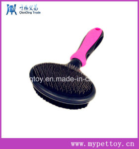 Elestic Pet Slicker Brush for Dog pictures & photos
