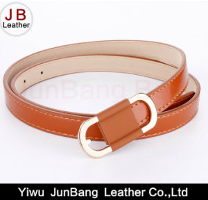 Fashion Lady′s PU Leather Belt pictures & photos