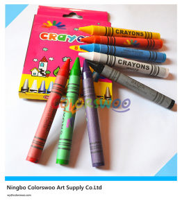 Wax Crayon, Non-Toxic Crayon, Best Selling Crayon, Jumbo Crayon, Classic Crayon, 8 Color Crayon, 1.1*10cm for Kids and Students pictures & photos