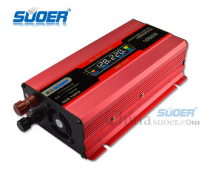 Suoer 12V 1000W DC to AC Power Inverter with LCD Display (SDB-1000A) pictures & photos