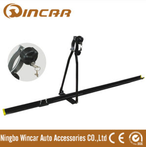 Universal Iron Car Roof Bike Carrier, Professional Roof Mount Bike Rack with Key (S068A)