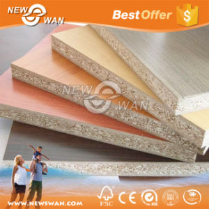 E1 Resin Melamine Faced Particle Board for Construction (Plain, Hollow-core) pictures & photos
