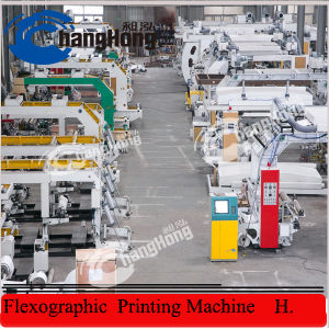 Double Unwinder and Double Rewinder Flexographic Printing Machine pictures & photos