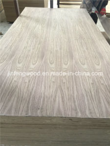 Veneer Board/ Black Walnut Veneer MDF / Red Oak Veneered MDF pictures & photos