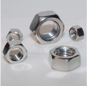 Stainless Steel Hex Nuts ISO4032 with Zinc Plated pictures & photos