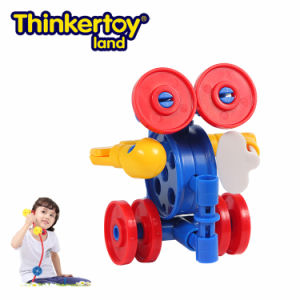 Thinkertoy Land Blocks Educational Toy Robot Series Alines Come Extraterrestrial Being (R6101)