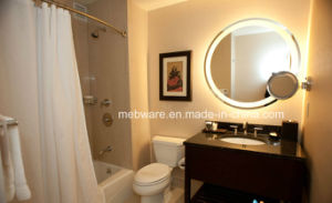 Round Bathroom Mirror, Frameless Mirror LED Mirror Lamp pictures & photos