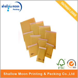 Customized Kraft Paper Nature Color Shipping Bubble Envelops (QYCI15386) pictures & photos