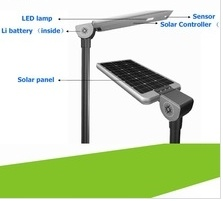 Integrated 30W All in One Solar Street Light