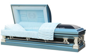 Father 18 Gauge Steel Square Coner Casket pictures & photos