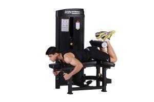 Horizontal Leg Curl Fitness Machine Sp-013A pictures & photos