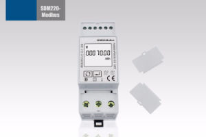 Single Phase RS485 Modbus DIN Rail Digital Energy Meter Sdm220-Modbus pictures & photos