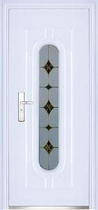 Steel Entry Glass Door (WX-LSG-299) pictures & photos