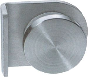 Stainless Steel Glass Clip with Knob Used in Fixing Glass (CR-G38) pictures & photos