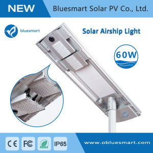 60W Solar Powered Street Lamps with Remote Control pictures & photos
