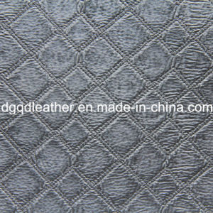 Fashion Quilting Decoration Furniture Leather (QDL-51372) pictures & photos