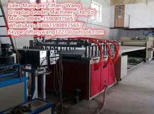 PVC Celuka Foam Board Extruder Line Plastic Machine pictures & photos