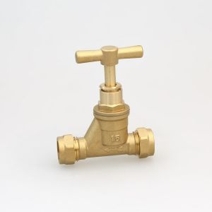 Forged Brass Stop Cock 15mm, BS1010 Stop Valve (Hx-2001)