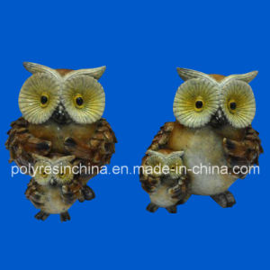 Polyresin Owl Statue Decoration pictures & photos