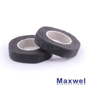 Black Cotton Insulation Tape for Automotive Wire Harness pictures & photos