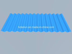 Metal Corrugated Sheet for Facades and Wall Claddings-Sky Blue5015 pictures & photos