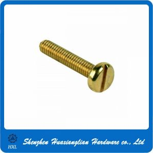 Brass/Stainless Slotted Pan/Cheese Head Machine Screw pictures & photos
