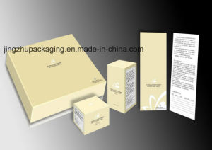 Grey Board Paper Packing Box with Cmyk Printing.