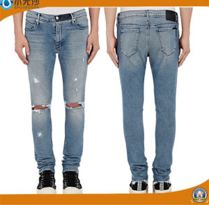 Brand Mens Jeans Slim Straight Pants Denim Trousers for Men pictures & photos