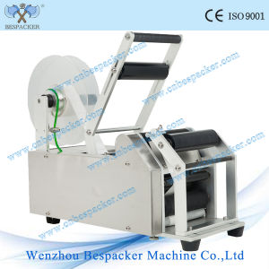 Semi-Auto Round Water Bottle Labeling Machine pictures & photos
