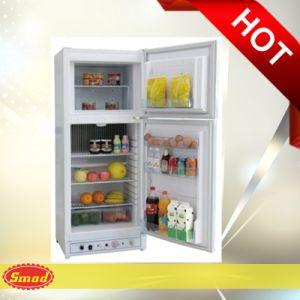 Double Door Freestanding Absorption LPG Gas Powered Refrigerator pictures & photos