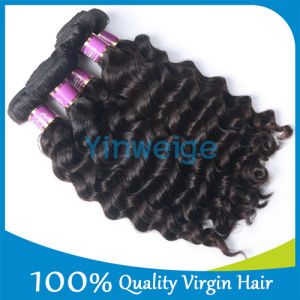 7A Grade Original Virgin Quality Brazilian Real Raw Human Hair in Hair Extension for Wholesale