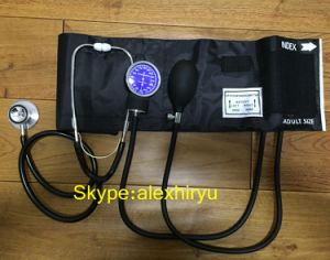 Aneroid Sphygmomanometer Parts Stainless Steel Single Head Stethoscope pictures & photos
