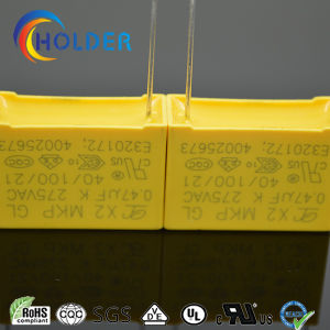 Metallized Polypropylene Film Capacitor (X2 0.47UF/275V E4) pictures & photos